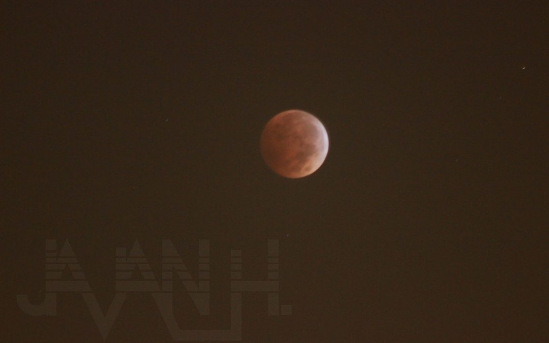 Total Lunar Eclipse in Baton Rouge