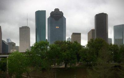A Rainy Day in Houston