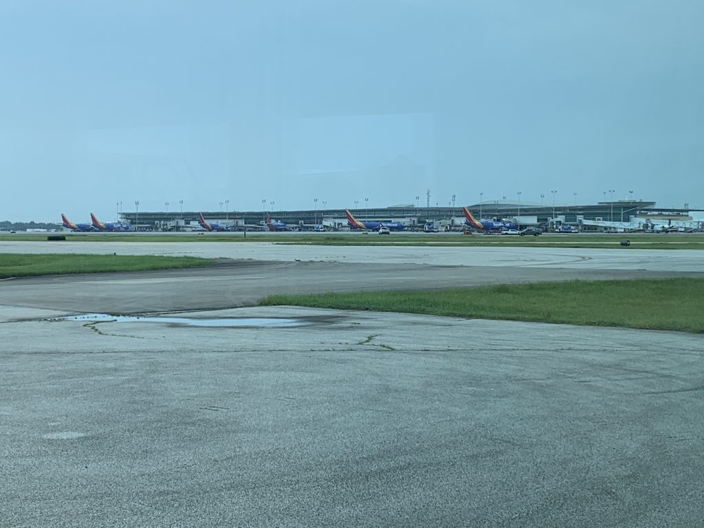 The airfield from JSX Houston-Hobby.